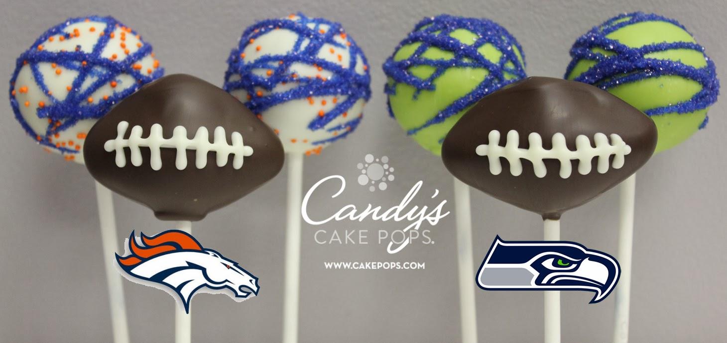 Seahawks Cake Pops Superbowl Cake Pops