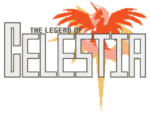 The Legends of Celestia logo.