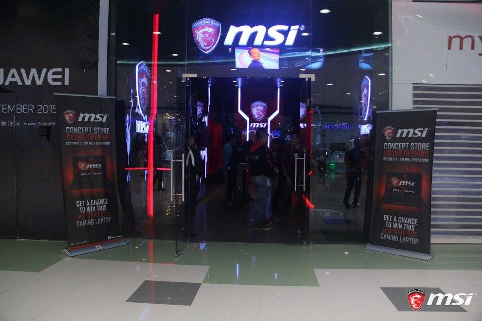 MSI Concept Store at SM Mall of Asia Cyberzone