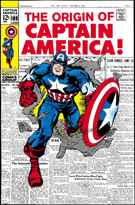 Captain America (1968) Issue #109 #23 - English 1