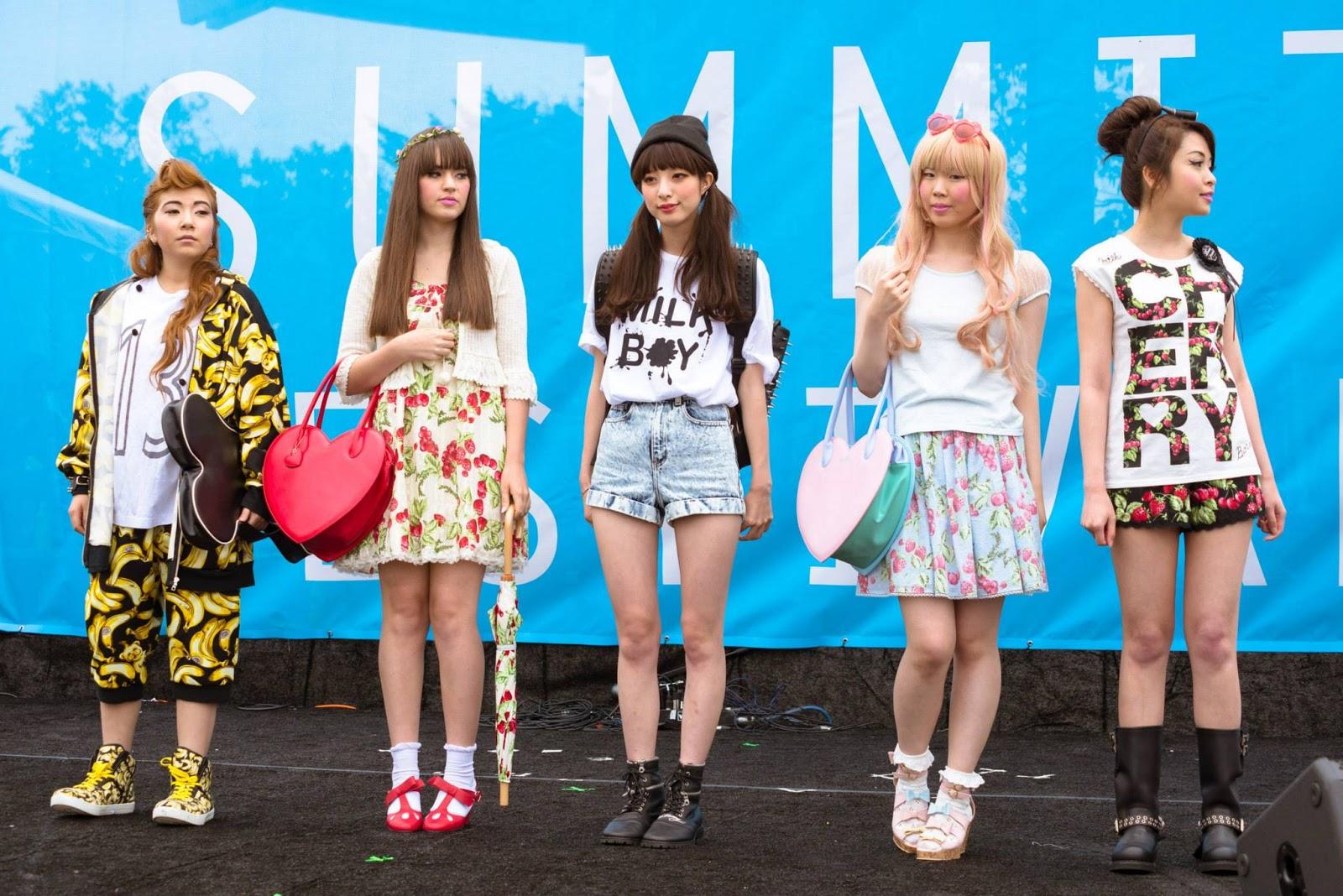 j pop summit, san francisco, harajuku fashion, japan, japanese, milk, milk boy, fashion show