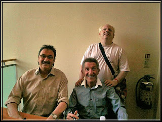 The chuckle brothers – touch tour and meet and greet
