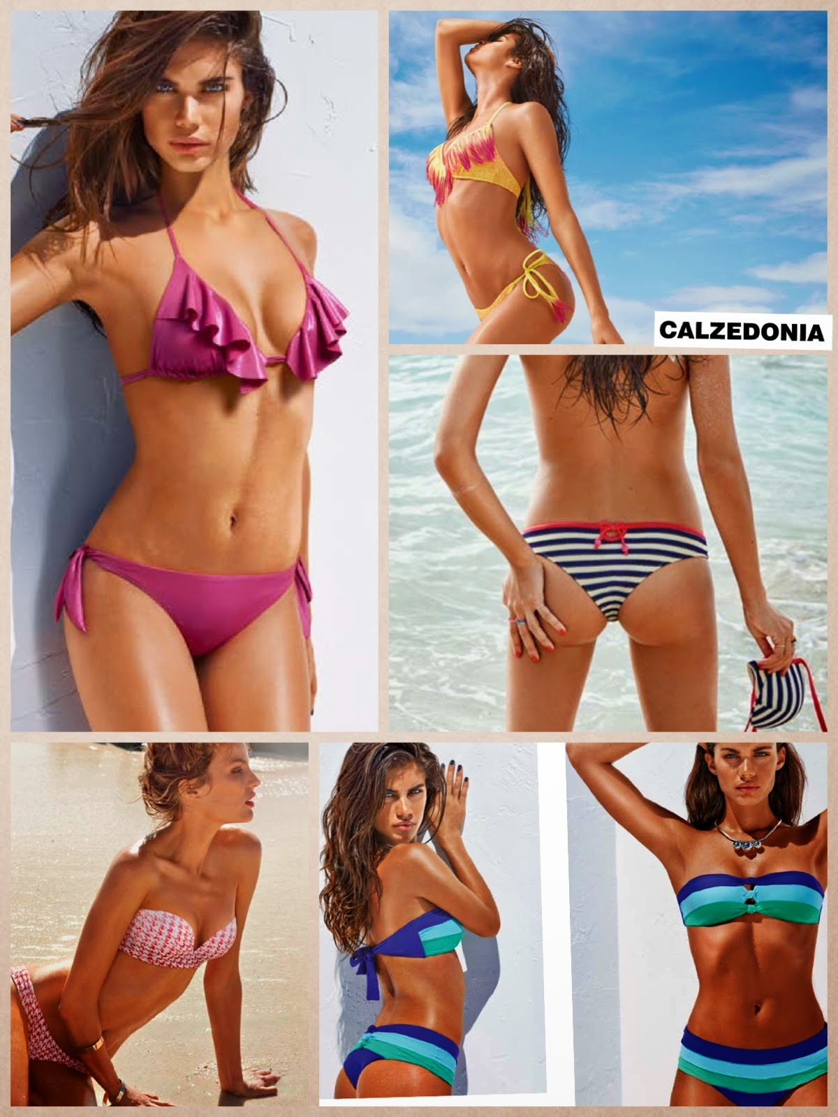 costumi 2014, calzedonia, golden point, catalogo costumi, yamamay