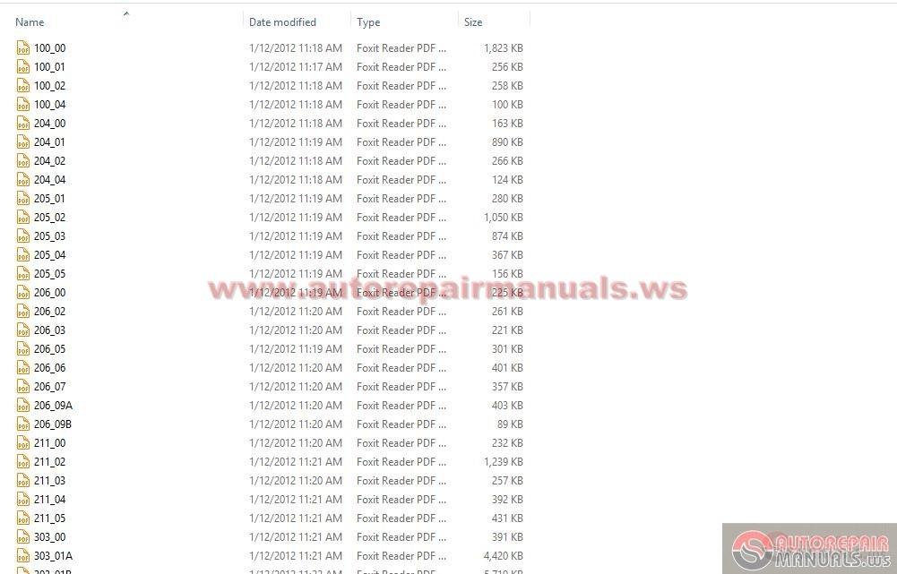 ford ranger workshop manual pdf