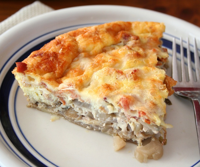 Bacon, Gruyere and Endive Quiche (Low Carb and Gluten-Free) | All Day ...