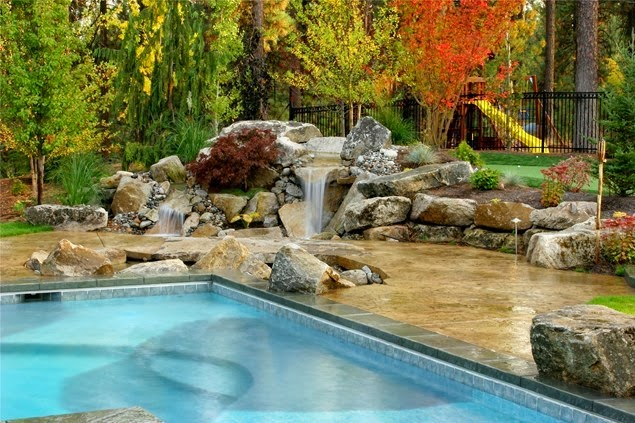 Simple Backyard Pond Elegant Pond Backyard Landscaping Maureen