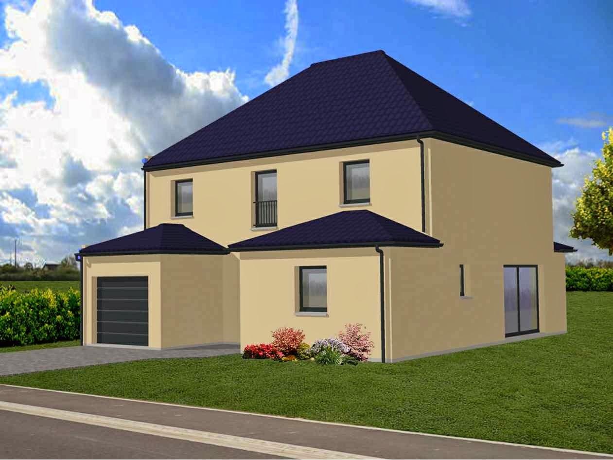 Maison familiale lille mouchin etage r 1 141 m for Maison familiale
