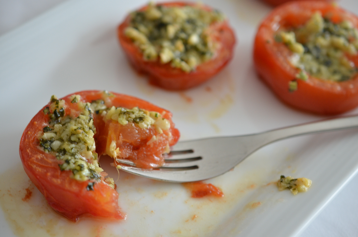 goat cheese pesto stuffed tomatoes 1 3c goat cheese chèvre 2 tblsp ...