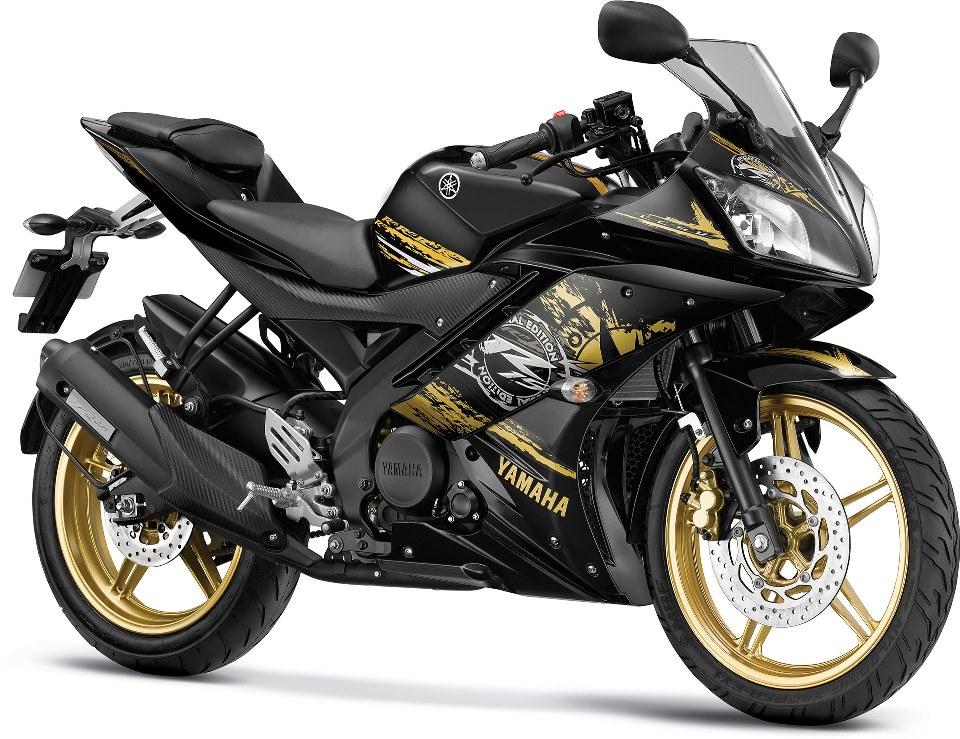 Yamaha YZF R15 V2 2014 Dummy Gold