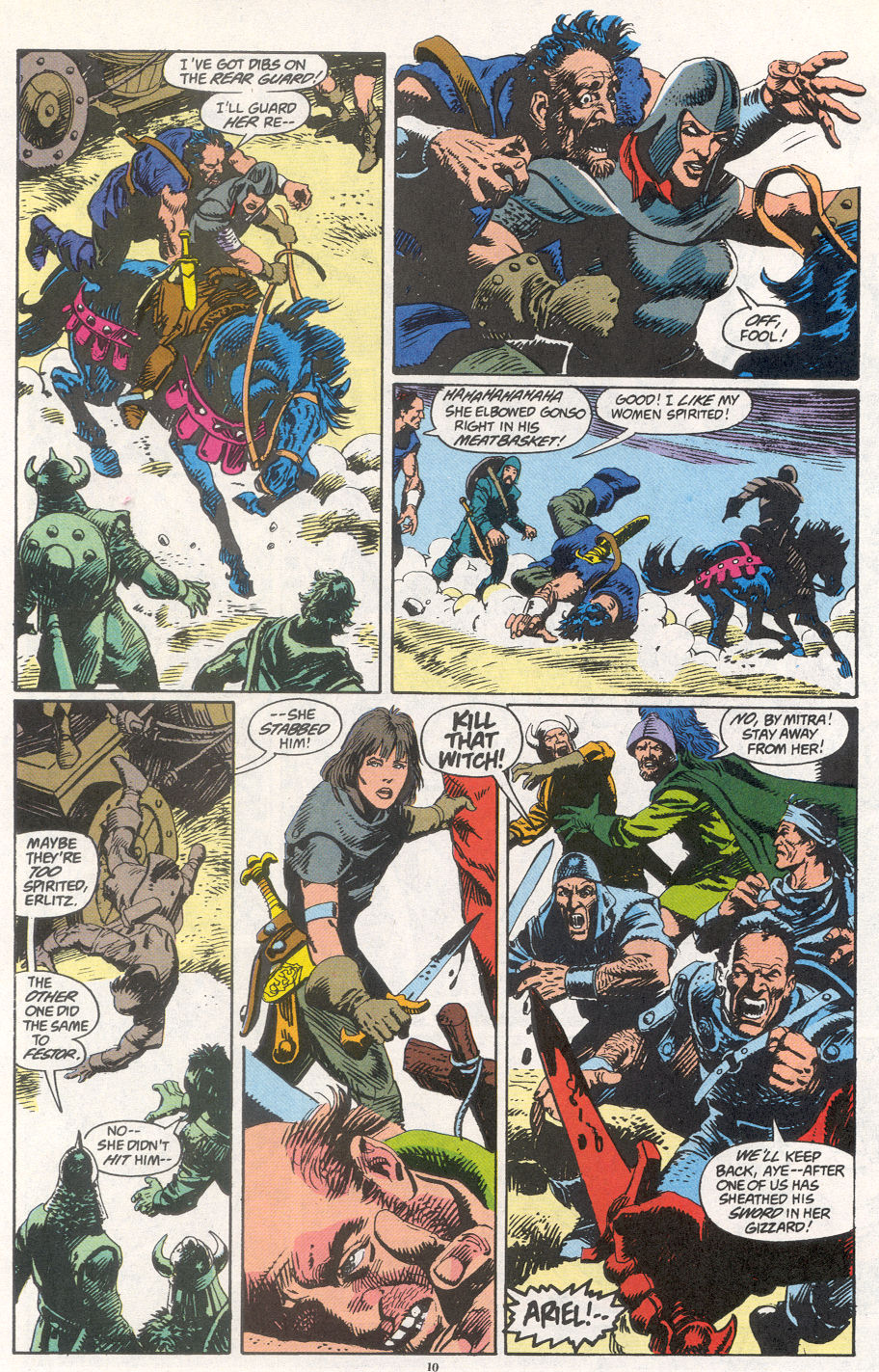 Conan the Barbarian (1970) Issue #266 #278 - English 8
