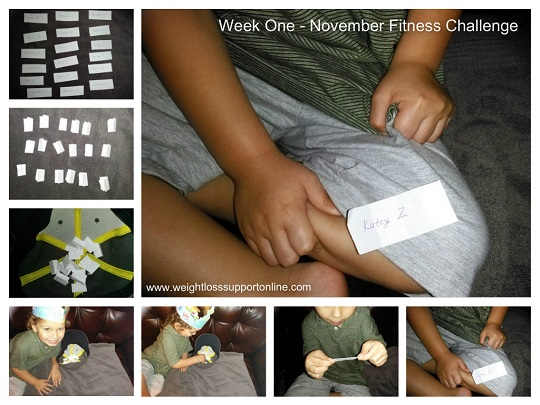 Week 1 winner of our plank and power fitness challenge. Join our group to get in on the fun!