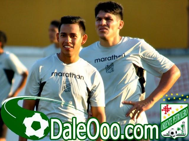 Oriente Petrolero - Rodrigo Vargas - Richar Estigarribia - DaleOoo.com página del Club Oriente Petrolero