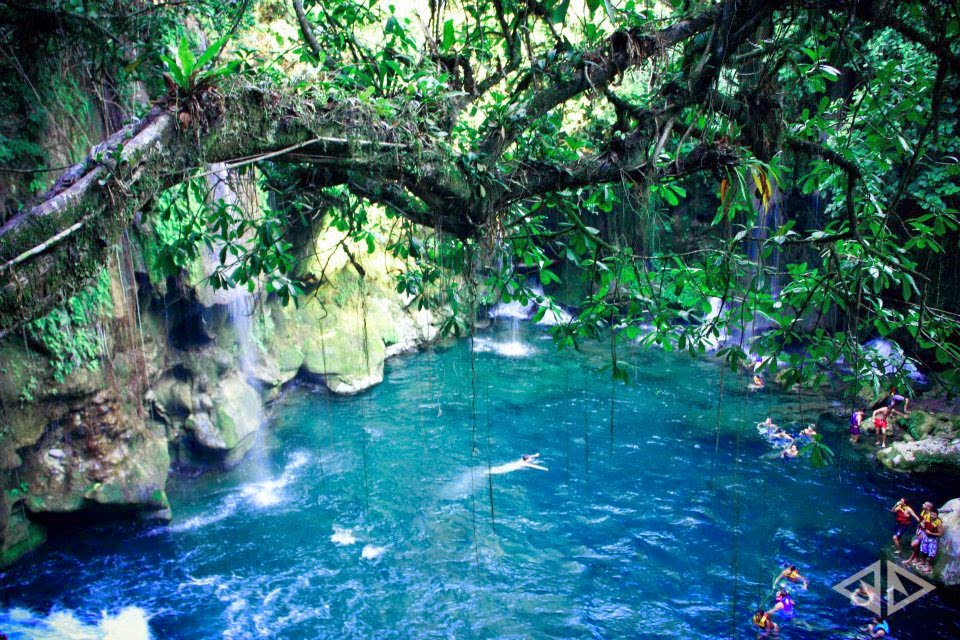 Cenote, Xilitla, San Luis Potosi, Mexico