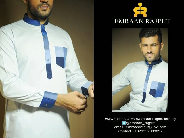 EMRAAN RAJPUT MEN CASUAL & PARTY WEAR KAMEEZ SHALWAR 2014