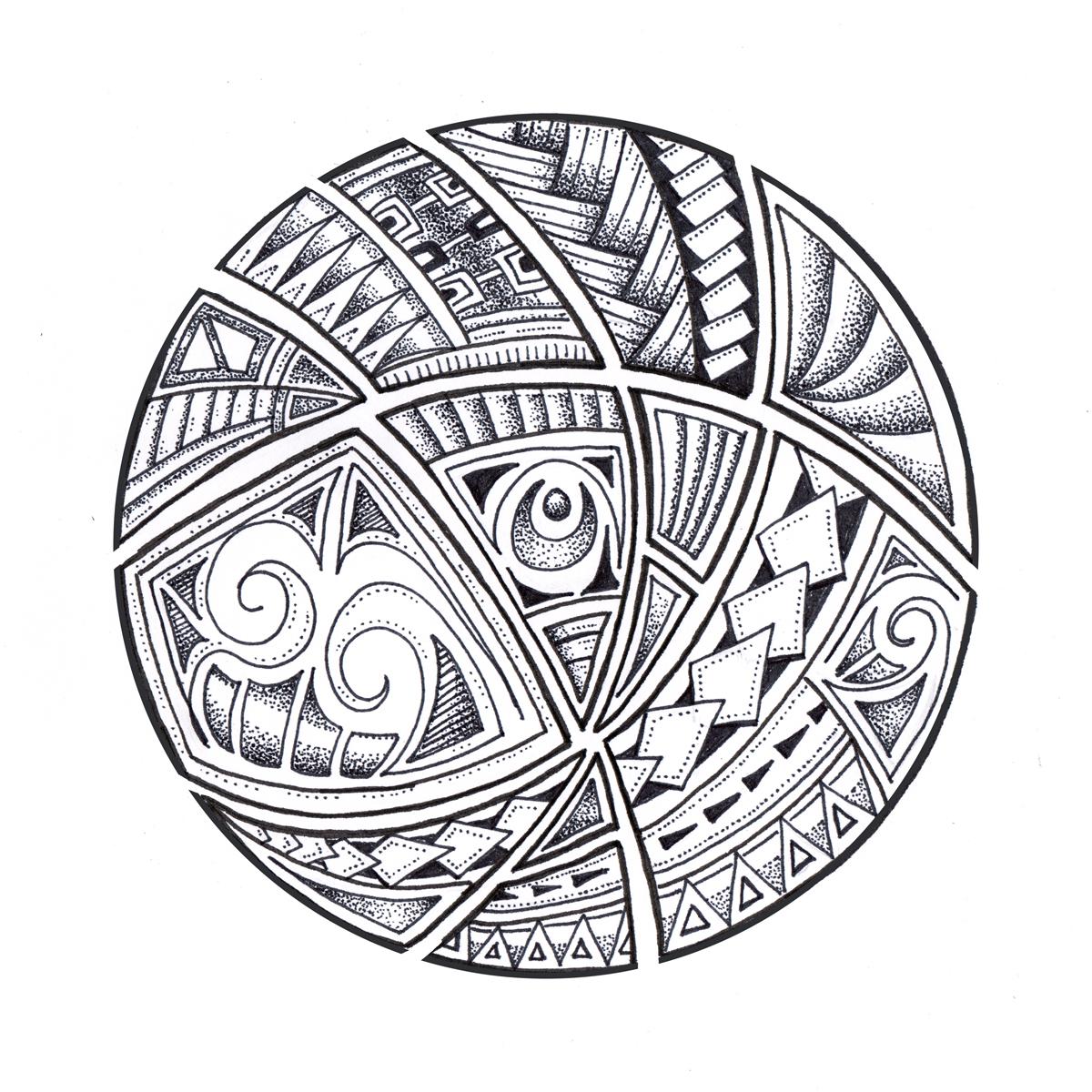Polynesian Tribal Wallpaper: Shaun Patterson's Blog