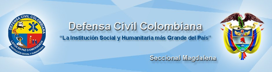 DEFENSA CIVIL COLOMBIANA  -   Seccional Magdalena