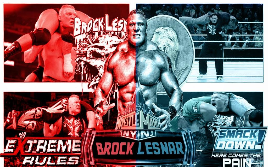 Brock Lesnar 2014 Wallpaper HD