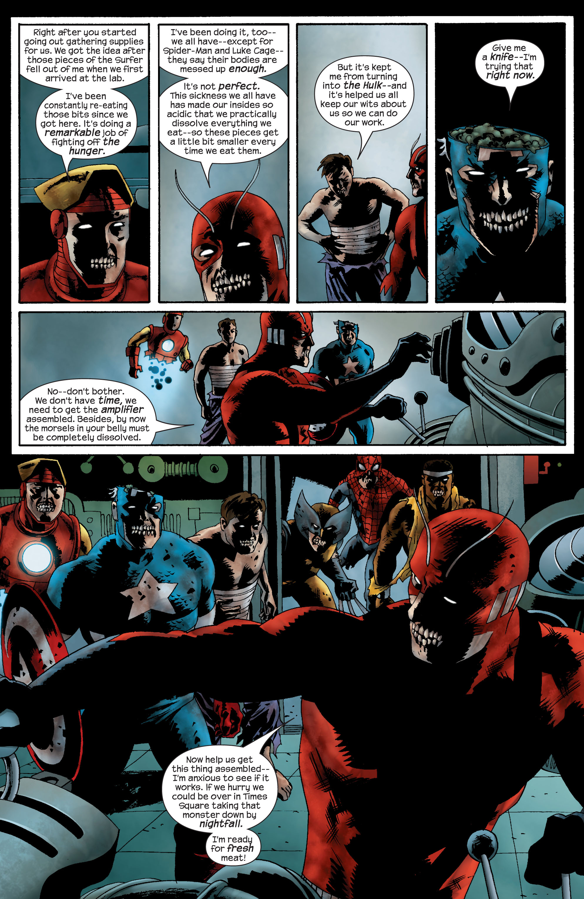 Marvel Zombies (2006) Issue #4 #4 - English 16