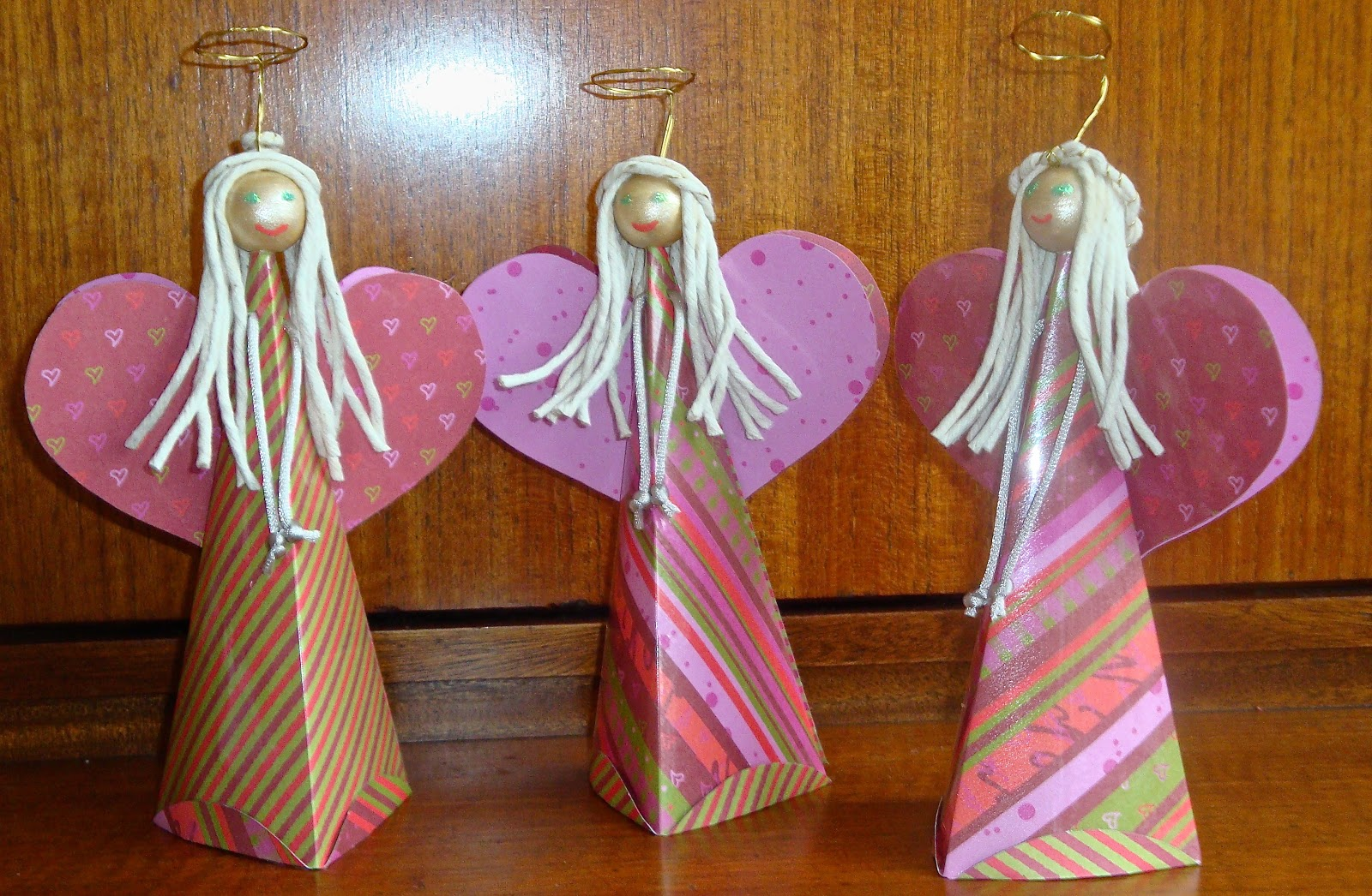 Choirs of angels mrs fox 39 s life home crafts and parties for Angels decorations home