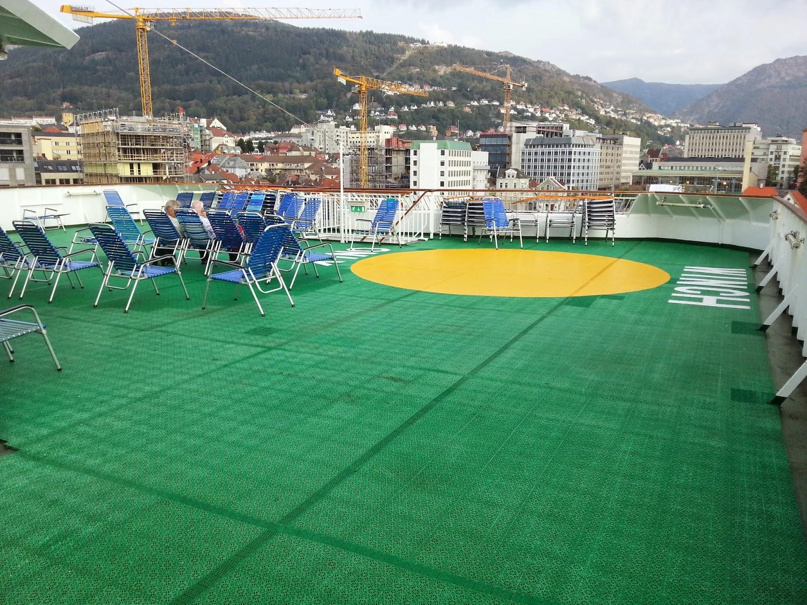 Hurtigruten MS Nordkapp - Sun Deck