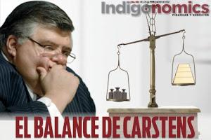 Para Cartens en pocas palabras México está en crisis económica.