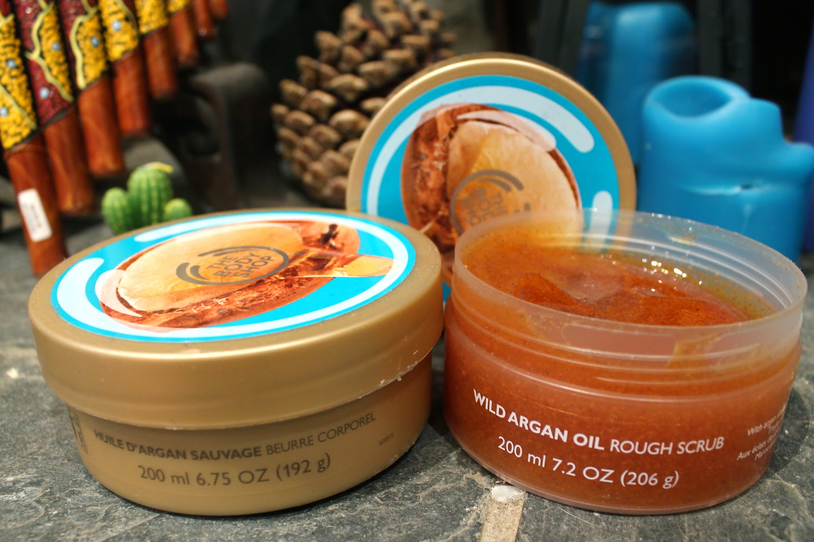 the body shop argan exfoliating scrub review