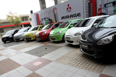 warna mitsubishi mirage 2013