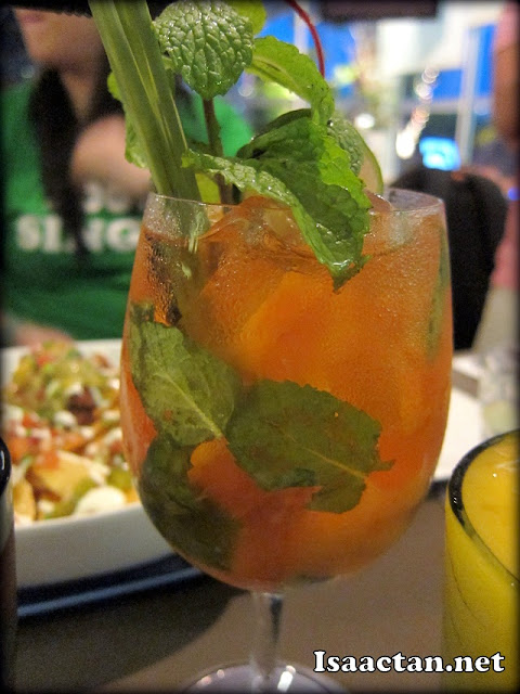 Mandarin Spree-A combination of Mint, Tangerine, Lime, Orange & Soda - RM13.90