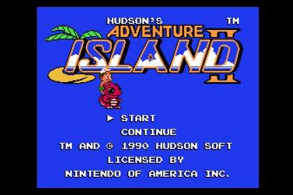 Adventure Island 2__冒險島2 (nes, 模擬器)