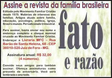 """REVISTA """"FATO E RAZÃO"""""""