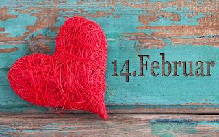 Fondos de Escritorio un Corazón para el 14 de Febrero