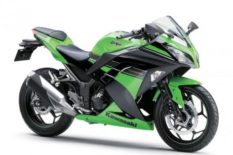 2013 Motor Kawasaki Ninja 300