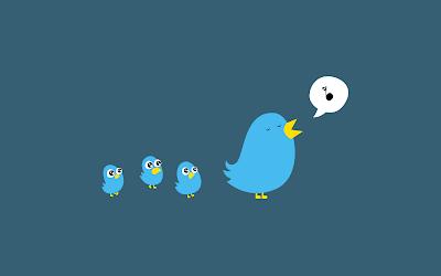 Un perfil de empresa optimizado en Twitter para conseguir más seguidores.
