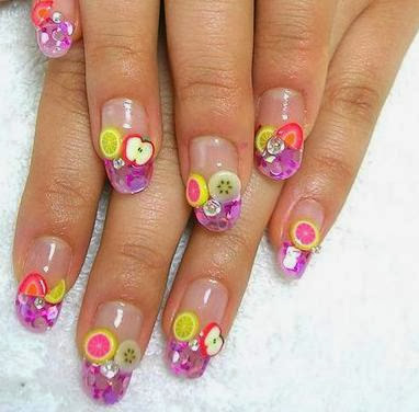 Fruits Nail Designs