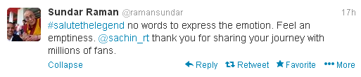 Sundar-Raman-Tweet-for-Sachin-Tendulkar