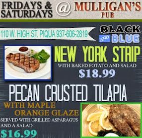 Mulligans Friday & Saturday