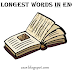 Top 8 Longest Words In English