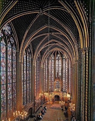 Sainte Chapelle: capela superior