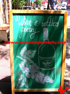 Wine is Bottled Poetry, Signs, New York City, NYC, Street Art, Wordless Wednesday, Pictures, Photos