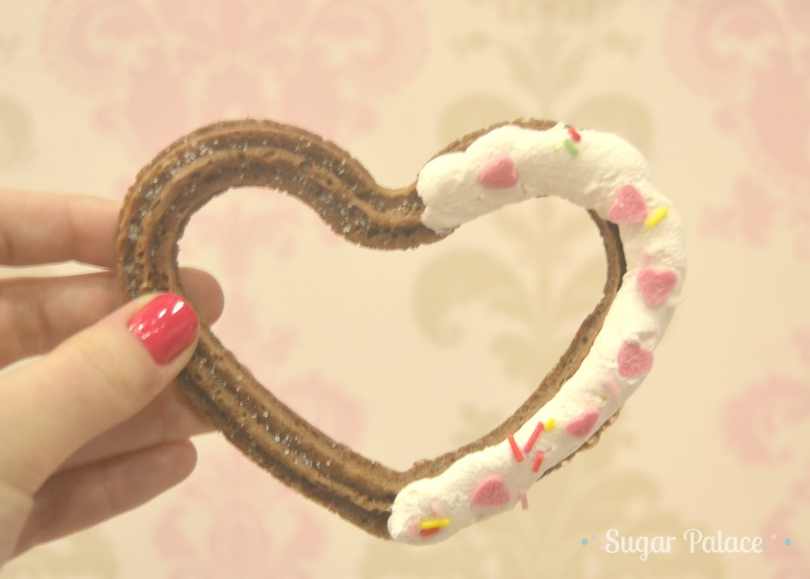 churros corazon