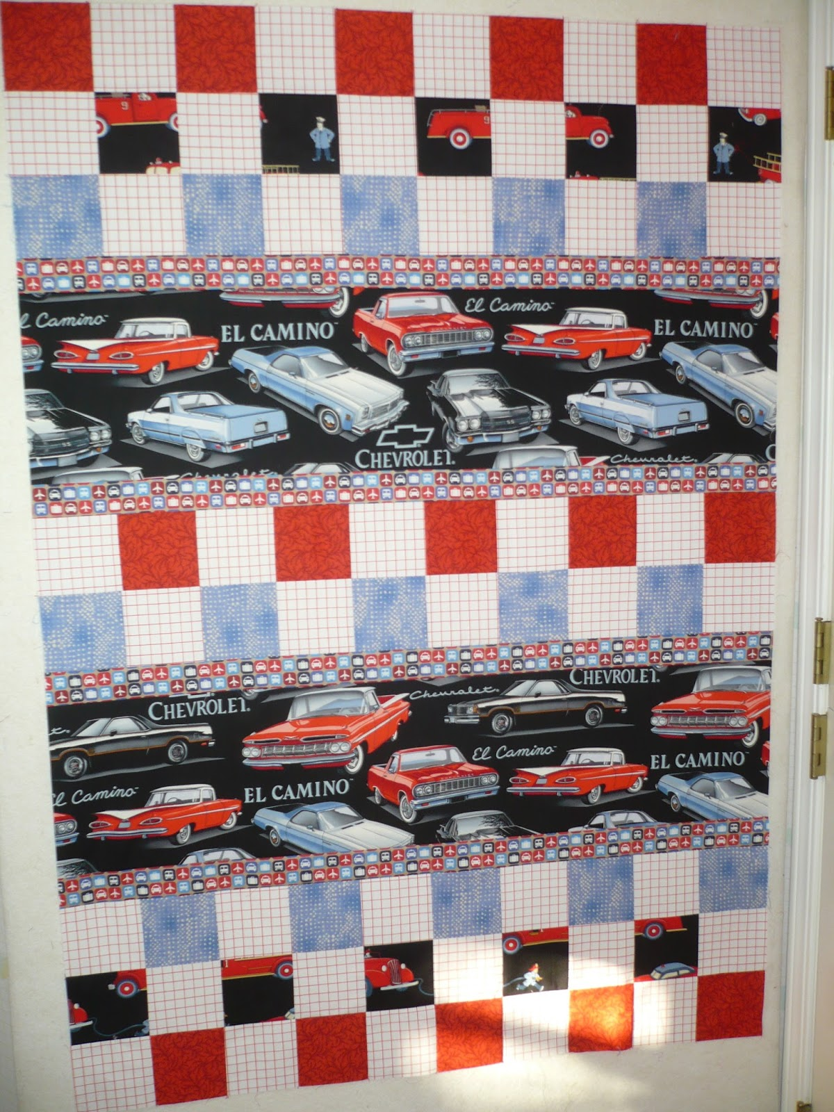 Classic Car Fabric for Quilts