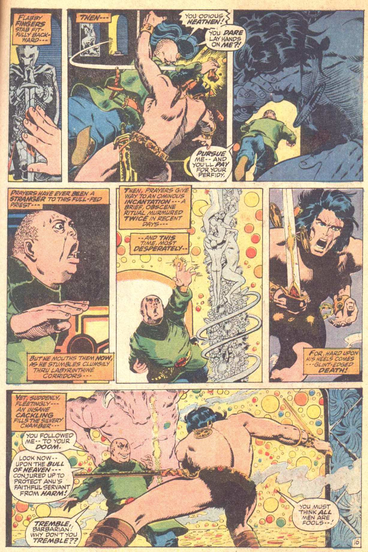 Conan the Barbarian (1970) Issue #10 #22 - English 17