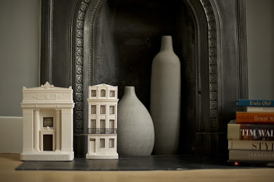 Chisel and Mouse fine plaster model buildings