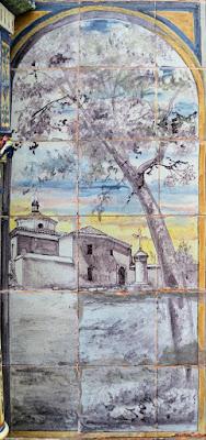 Plaza de España - Sevilla - Azulejo de Huelva - Monasterio de La Rábida