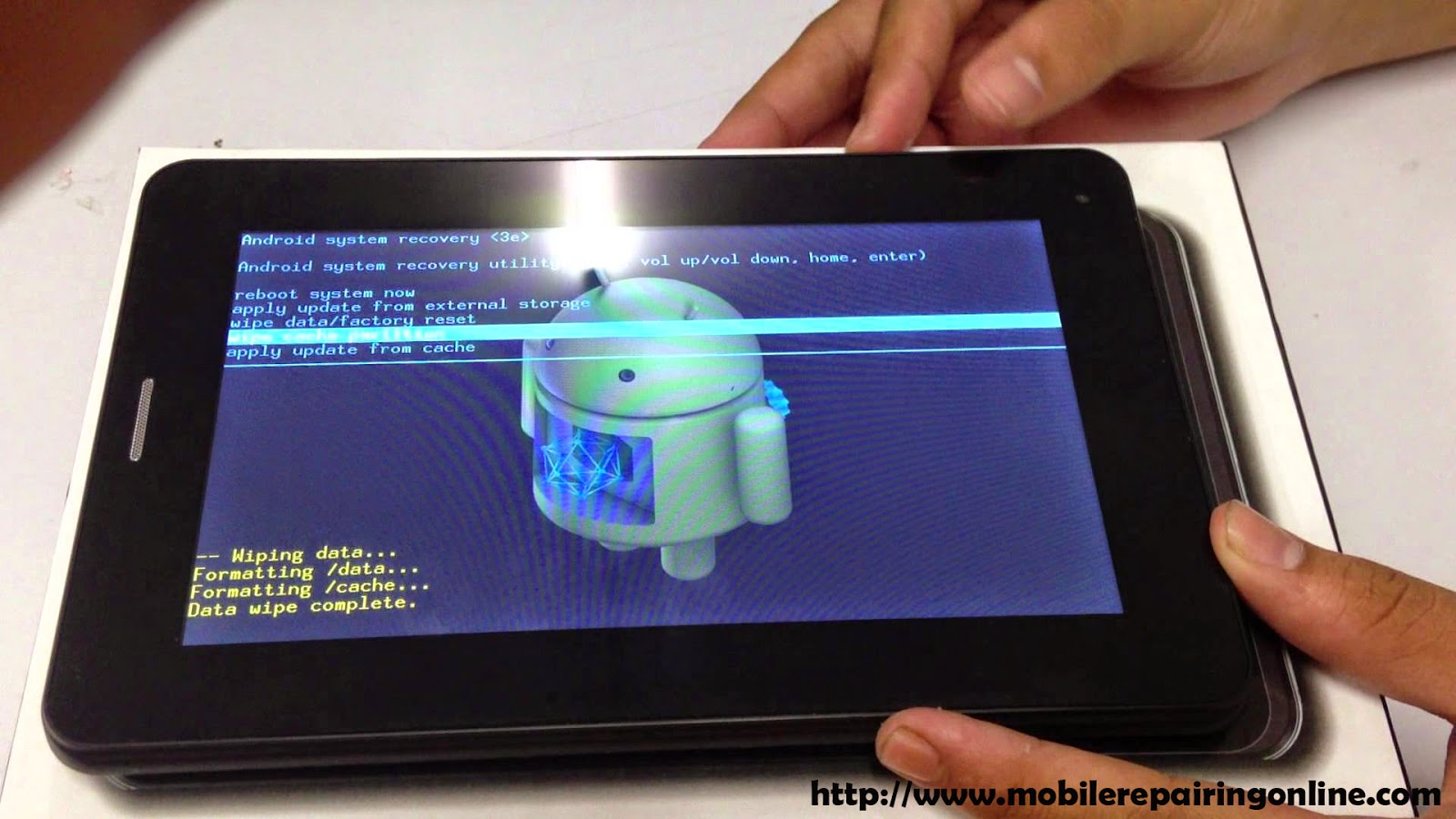 How to Hard Reset Galaxy tab