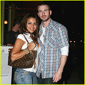 Chris Evans Girlfriend