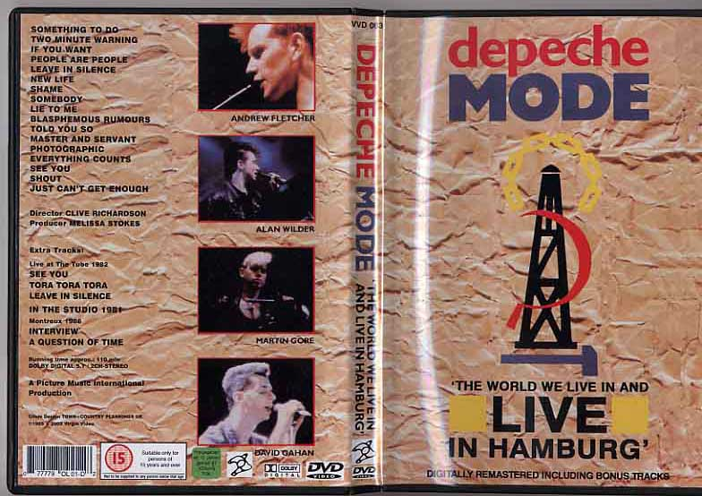 Cat logo dvd m sica depeche mode live in hamburg for 1980 floor show dvd