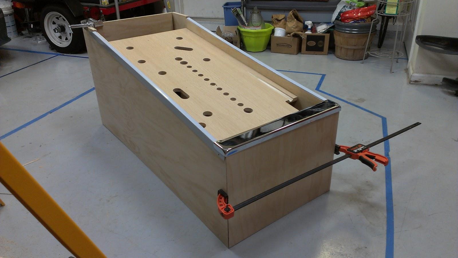 diy pinball machine