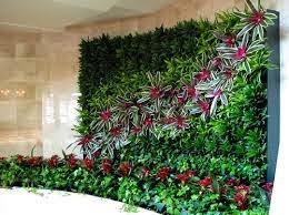 Desain taman vertikal (wall green) | jasa desain taman | desain taman minimalis taman rumput | taman kering |