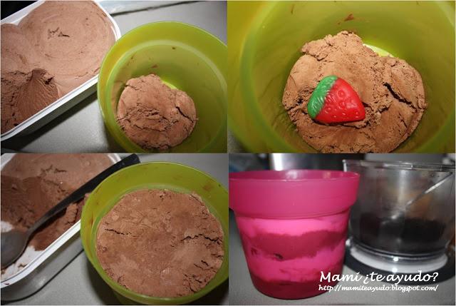 helado en maceta receta mama de noa
